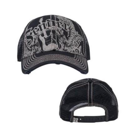 Fender Wings Trucker Cap - Black, O/S - Fender - 910-6012-006