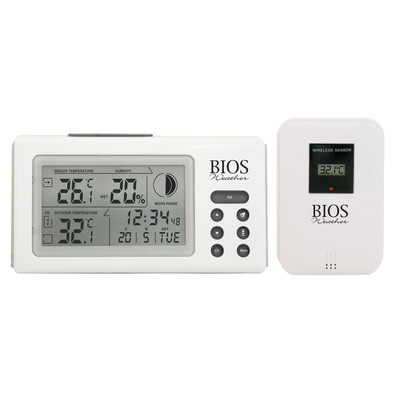 Digital Indoor/Outdoor Wireless Thermometer Hygrometer