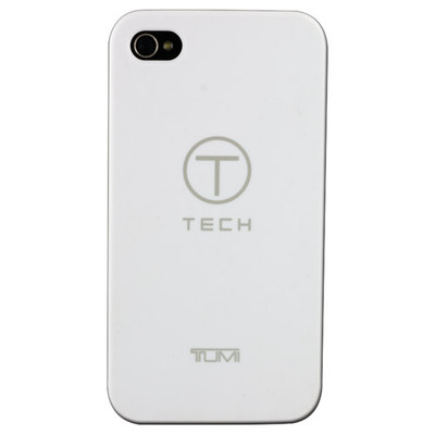 iPhone4/4S® Smooth Black Rubberized Snap Case