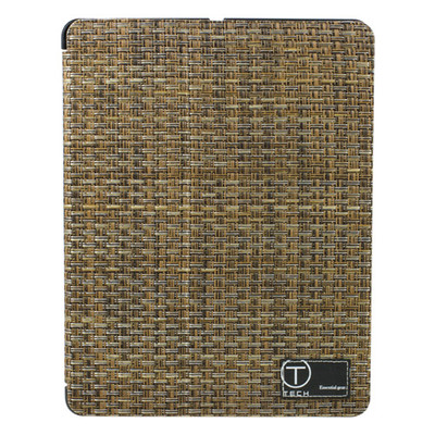 iPad® Wicker Pattern Portfolio Case