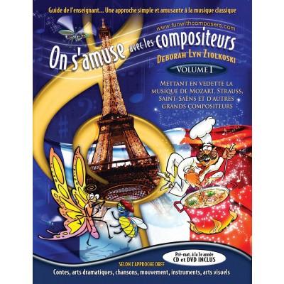 Music On samuse avec les compositeurs - Teacher Guide - Fun with Composers - 97809918276-1-9