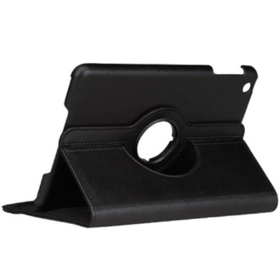 360 Rotating iPad Mini PU Leather Case - Black Color