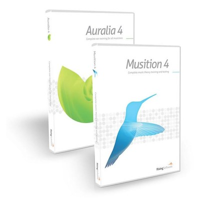 Software Rising Auralia 4 and Musition 4 Bundle - Rising - 631573