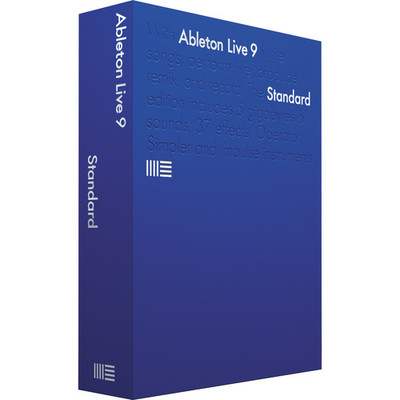 Ableton Live 9 Standard Software - Ableton - ABLETON LIVE 9 STANDARD