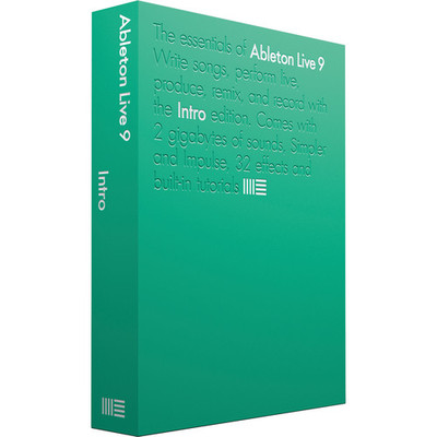 Ableton Live 9 Intro Software - Ableton - ABLETON LIVE 9 INTRO