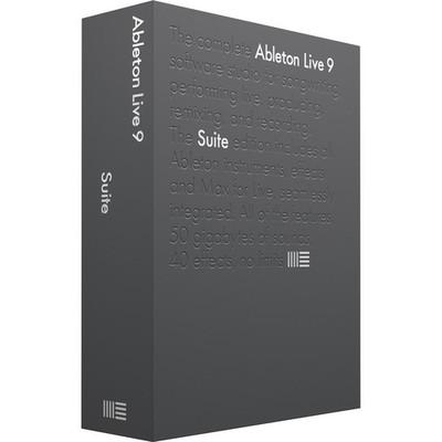 Ableton Live 9 Suite Software - Ableton - ABLETON SUITE 9