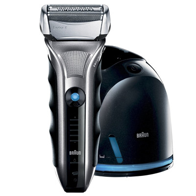 Braun 5-590-4 Rechargeable shaver with Clean and Renew system