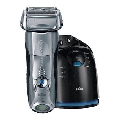 Braun Series 7 Rechargeable Shaver with Clean&Renew - Silver