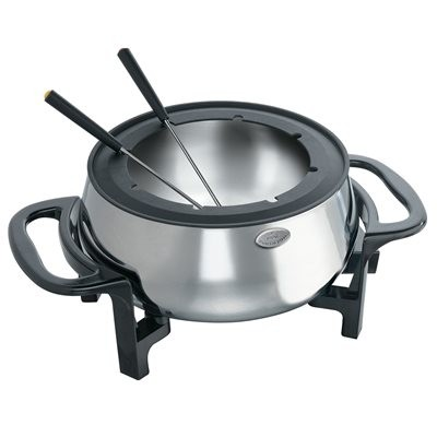 Rival Electric Fondue - Black/Stainless Steel