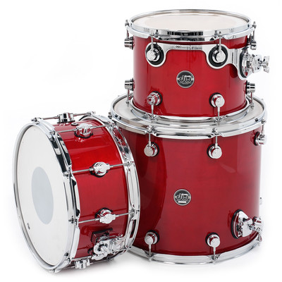 DW Performance Series Drum Kit - 12/15/6.5x14 - Candy Apple - DW - DRPLTMPK03 CA