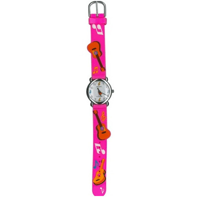 Watch for Kids Aim Pink Guitar w/Notes - Aim - 27953E