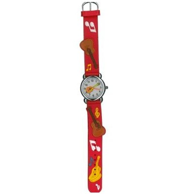 Watch for Kids Aim Red Guitar w/Notes - Aim - 27953I