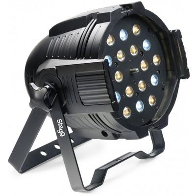 Light Stagg Kingpar 6Z 18x3w RGB LED - Stagg - SLI KINGPAR6Z-1