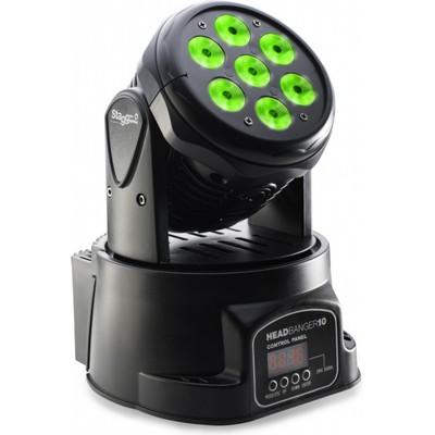 Stagg Headbanger 10 LED Moving Head Light - Stagg - SLI MHW HB10-1