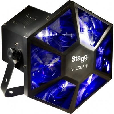 Light Stagg Sparkle 1 6-Lens Rotate Beam LED - Stagg - SDJ-SPARKLE1-1