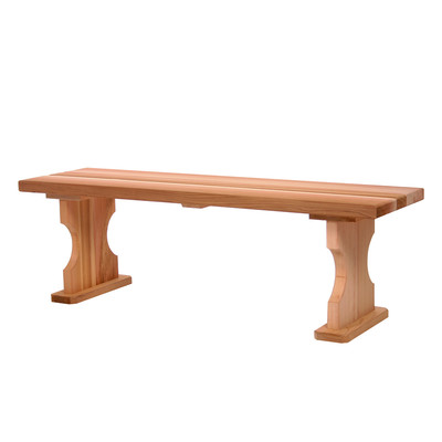 CEDAR 4t. Backless Bench