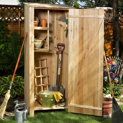 CEDAR Storage Hutch - Storage Shed