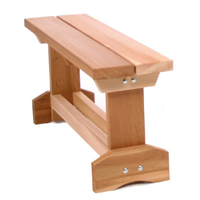 CEDAR Picnic Table End Bench