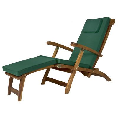 Steamer Cushion - GREEN