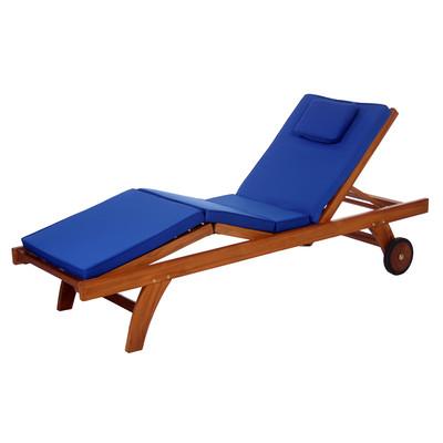 Chaise Lounge Cushion - BLUE