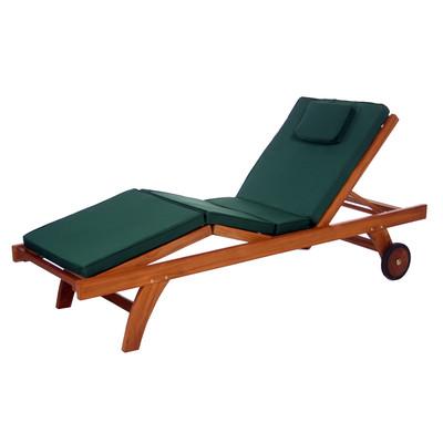 Chaise Lounge Cushion - GREEN