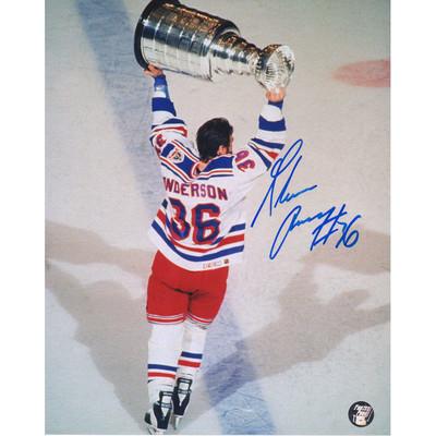 Glenn Anderson Autographed 8X10 Photo (NY Rangers)