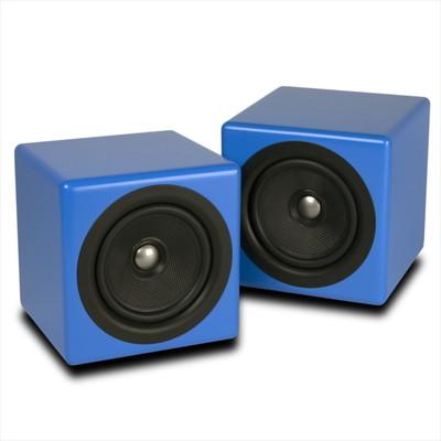 Kanto BEN 5-inch Passive Coaxial Speakers - Pair (Matte Blue) (800152712505)