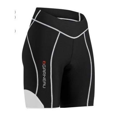 Louis Garneau Neo Power Fit 7in Short - Women's - Black/white,