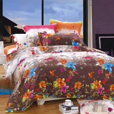 North Home - Blossom 100% Cotton 4pc Duvet Cover Set