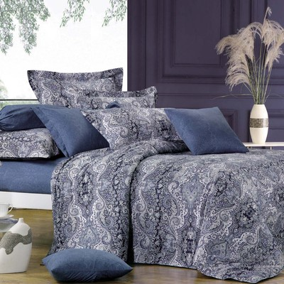 North Home - Lauren 100% Cotton 4pc Duvet Cover Set