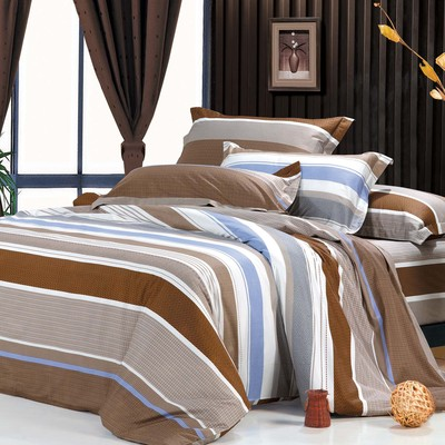 North Home - Luna 100% Cotton 4pc Duvet Cover Set