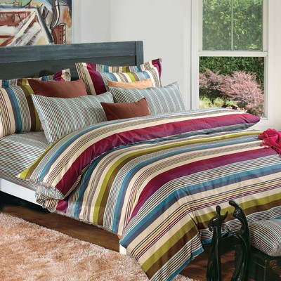 North Home - Milano 100% Cotton 4pc Duvet Cover Set