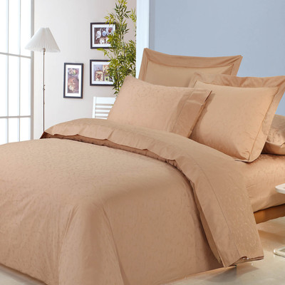North Home Isabelle Jacquard 100% Egyptian Cotton 310 Thread Count Duvet Cover Set