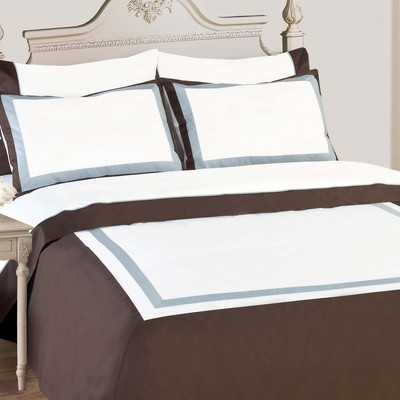 North Home Diana 100% Egyptian Cotton Duvet Cover Set