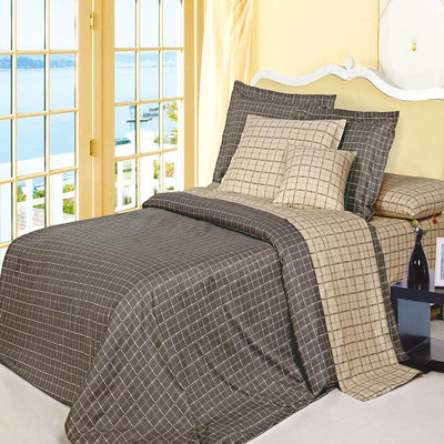 North Home Matrix 100% Cotton 4pc Duvet Cover Set (Queen)