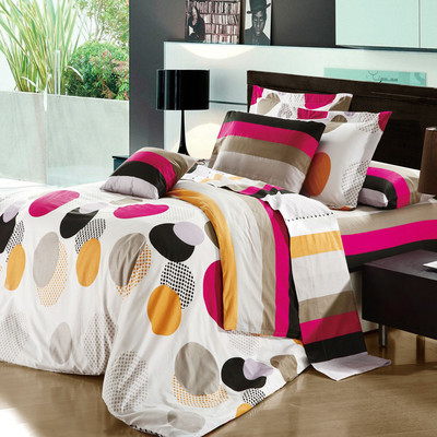 North Home Akemi 100% Cotton 3pc Sheet Set (Twin)