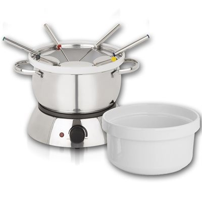 Trudeau Alto Electric Fondue Set - 11 Pieces