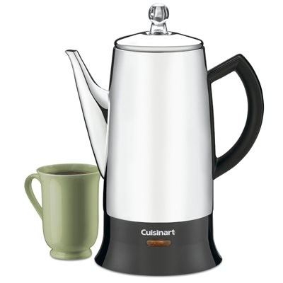 Cuisinart 12-Cup Percolator - Brushed Chrome