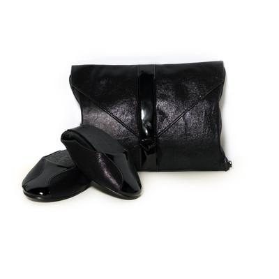 Damn Heels Black Diamonds Women's Ballet Flats