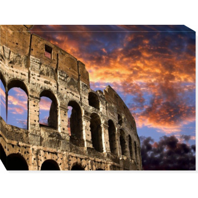 COLOSEUM ON FIRE -  print