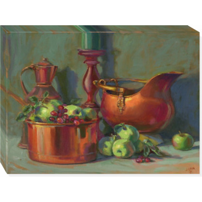 BRASS AND APPLES -  print