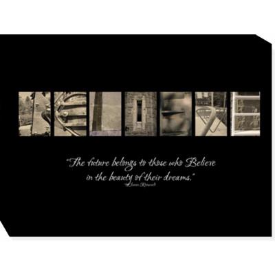 BELIEVE - 12x16 print