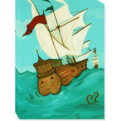 CLASSICAL SHIP canvas art 18x24