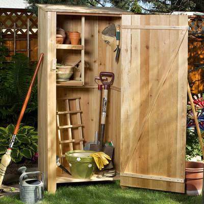 CEDAR Storage Hutch - Storage Shed