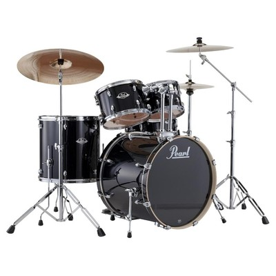 Pearl Drum - Export Shell Pack - Jet Black - 20,10,12,14,14 - Pearl - EXX705PC 31