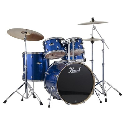 Pearl Drum - Export Shell Pack - El Blue Sparkle - 20,10,12,14,14 - Pearl - EXX705PC 702