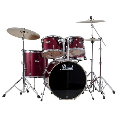 Pearl Drums - Export Shell Pack - Red Wine - 20,10,12,14,14 - Pearl - EXX705PC 91