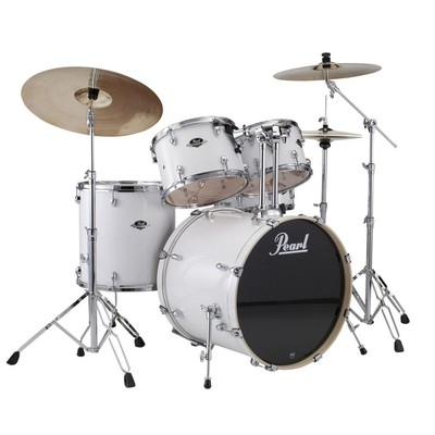 Pearl Drum - Export Shell Pack - Pure White - 20,10,12,14,14 - Pearl - EXX705PC 33