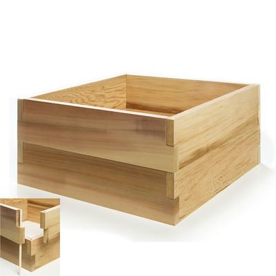Cedar Vegetable Boxes - 2ft. Double Raised Garden Bed