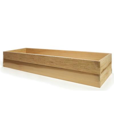 Cedar Vegetable Boxes - 6ft. Double Raised Garden Bed